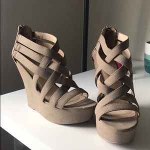 ***STRAPPY WEDGES***